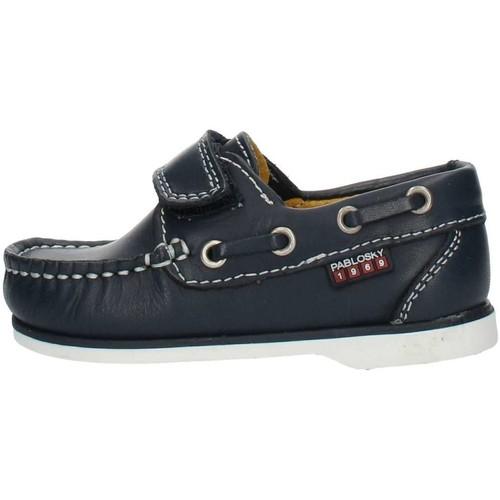 Παπούτσια Αγόρι Boat shoes Pablosky 121920 Blue