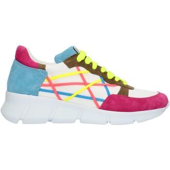 Παπούτσια Γυναίκα Χαμηλά Sneakers L4k3 05LEG Blue fuxia