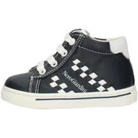Παπούτσια Αγόρι Ψηλά Sneakers Nero Giardini P724142M Blue and white