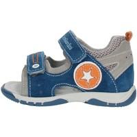Παπούτσια Αγόρι Σανδάλια / Πέδιλα Nero Giardini P823141M Gray blue and orange