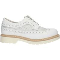Παπούτσια Κορίτσι Derby Nero Giardini P830070F White and silver