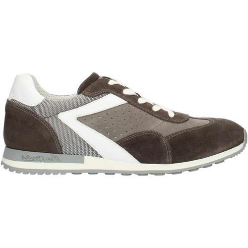 Παπούτσια Άνδρας Χαμηλά Sneakers Nero Giardini P800241U Smoke and white