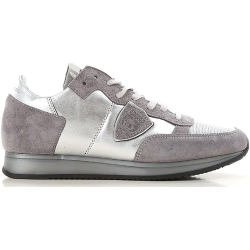 Παπούτσια Γυναίκα Χαμηλά Sneakers Philippe Model TRLD ME02 argento