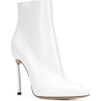 Παπούτσια Γυναίκα Μπότες Casadei 1Q618L100TRAIN900 bianco
