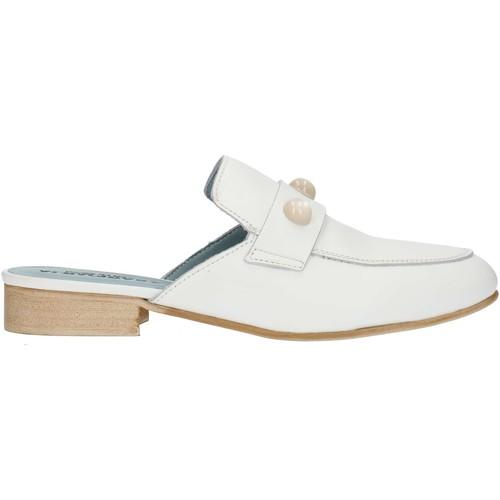 Παπούτσια Γυναίκα Σαμπό Albachiara NC74 White