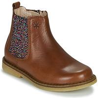 Παπούτσια Κορίτσι Μπότες Acebo's 5274-CUERO-J Cognac
