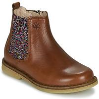 Παπούτσια Κορίτσι Μπότες Acebo's 5274-CUERO Brown