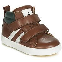 Παπούτσια Αγόρι Ψηλά Sneakers Acebo's 3040-CUERO-C Brown