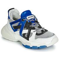Παπούτσια Γυναίκα Χαμηλά Sneakers Bronx SEVENTY STREET Άσπρο / Black / Μπλέ