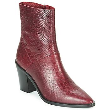 Παπούτσια Γυναίκα Μποτίνια Bronx NEW AMERICANA LOW Bordeaux