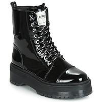 Παπούτσια Γυναίκα Μπότες Bronx RIFKA SUPER CHUNKY Black