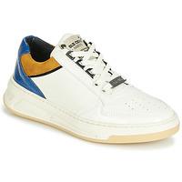 Παπούτσια Γυναίκα Χαμηλά Sneakers Bronx OLD COSMO Άσπρο / Ocre / Μπλέ