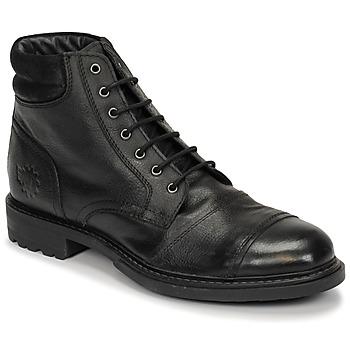 Παπούτσια Άνδρας Μπότες Base London REPTON Black