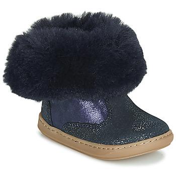 Παπούτσια Κορίτσι Μπότες Shoo Pom BOUBA FUR BOOTS Marine