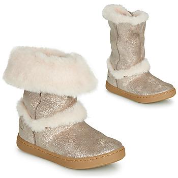 Παπούτσια Κορίτσι Μπότες Shoo Pom PLAY MOOT Argenté