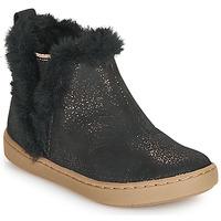 Παπούτσια Κορίτσι Μπότες Shoo Pom PLAY YETI Black