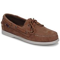 Παπούτσια Άνδρας Boat shoes Sebago DOCKSIDES PORTLAND SUEDE Camel