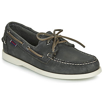 Παπούτσια Άνδρας Boat shoes Sebago DOCKSIDES PORTLAND CRAZY H Grey