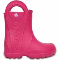 Παπούτσια Παιδί Μπότες βροχής Crocs Crocs™ Kids' Handle It Rain Boot Ροζ