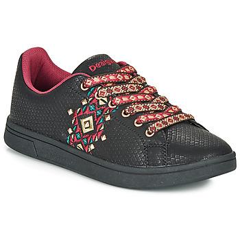 Παπούτσια Γυναίκα Χαμηλά Sneakers Desigual COSMIC NAVAJO Black