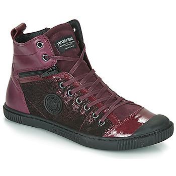 Παπούτσια Γυναίκα Ψηλά Sneakers Pataugas BANJOU Aubergine