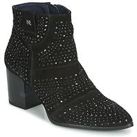 Παπούτσια Γυναίκα Μποτίνια Dorking LESLY Black