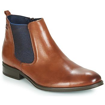 Παπούτσια Άνδρας Μπότες Fluchos HERACLES Cognac