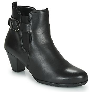 Παπούτσια Γυναίκα Μποτίνια Gabor 3564127 Black