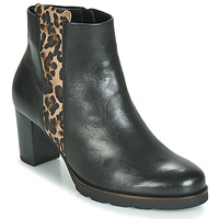 Παπούτσια Γυναίκα Μποτίνια Gabor 3554122 Black / Leopard