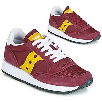 Παπούτσια Γυναίκα Χαμηλά Sneakers Saucony JAZZ ORIGINAL VINTAGE Bordeaux / Yellow