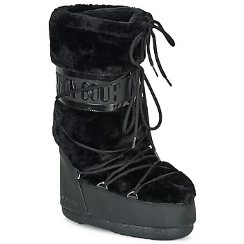 Παπούτσια Γυναίκα Snow boots Moon Boot MOON BOOT CLASSIC FAUX FUR Black
