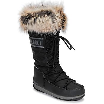 Μπότες για σκι Moon Boot MOON BOOT MONACO WP 2 ΣΤΕΛΕΧΟΣ: Συνθετικό και ύφασμα & ΕΠΕΝΔΥΣΗ: Συνθετική γούνα & ΕΣ. ΣΟΛΑ: Συνθετικό & ΕΞ. ΣΟΛΑ: Καουτσούκ