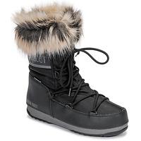 Παπούτσια Γυναίκα Snow boots Moon Boot MOON BOOT MONACO LOW WP 2 Black