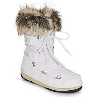 Παπούτσια Γυναίκα Snow boots Moon Boot MOON BOOT MONACO LOW WP 2 Άσπρο