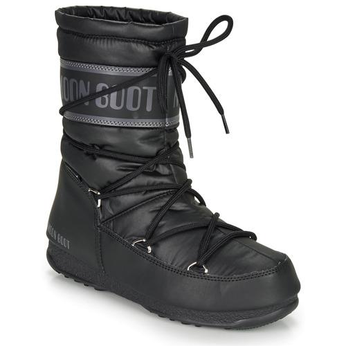 Παπούτσια Γυναίκα Snow boots Moon Boot MOON BOOT MID NYLON WP Black