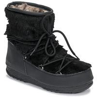 Παπούτσια Γυναίκα Snow boots Moon Boot MOON BOOT MONACO LOW FUR WP Black