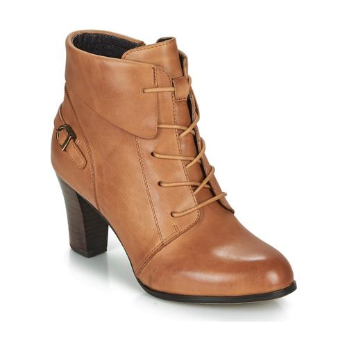 Παπούτσια Γυναίκα Μποτίνια Kdopa ALOE Cognac