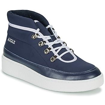Παπούτσια Γυναίκα Μπότες Aigle SKILON MID Marine