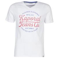 Υφασμάτινα Άνδρας T-shirt με κοντά μανίκια Kaporal OBUCE Άσπρο