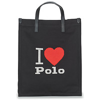 Τσάντες Γυναίκα Cabas / Sac shopping Polo Ralph Lauren I HRT POLO CVS/LTHR Black