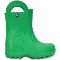 Παπούτσια Παιδί Μπότες βροχής Crocs Crocs™ Kids' Handle It Rain Boot  Πράσινος