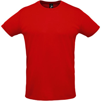 Υφασμάτινα Άνδρας T-shirt με κοντά μανίκια Sols SPRINT SPORTS Rojo