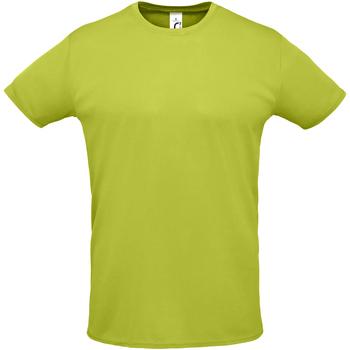 Υφασμάτινα Άνδρας T-shirt με κοντά μανίκια Sols SPRINT SPORTS Verde