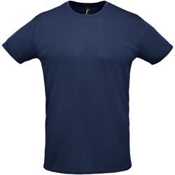 Υφασμάτινα Άνδρας T-shirt με κοντά μανίκια Sols SPRINT SPORTS Azul