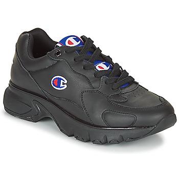Παπούτσια Γυναίκα Χαμηλά Sneakers Champion CWA-1 LEATHER Black