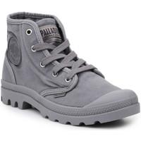 Παπούτσια Άνδρας Ψηλά Sneakers Palladium Lifestyle shoes  US Pampa Hi Titanium 92352-011-M grey
