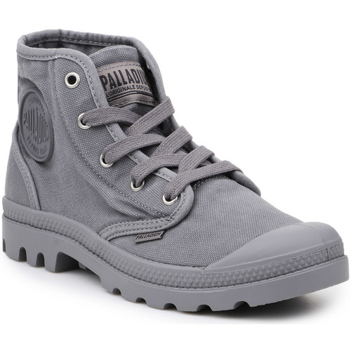 Παπούτσια Άνδρας Ψηλά Sneakers Palladium Lifestyle shoes  US Pampa Hi Titanium 92352-011-M grey