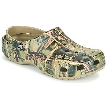 Παπούτσια Άνδρας Σαμπό Crocs CLASSIC REALTREE Kaki