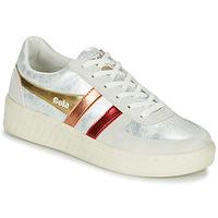 Παπούτσια Γυναίκα Χαμηλά Sneakers Gola GRANDSLAM SHIMMER FLARE Beige / Argenté