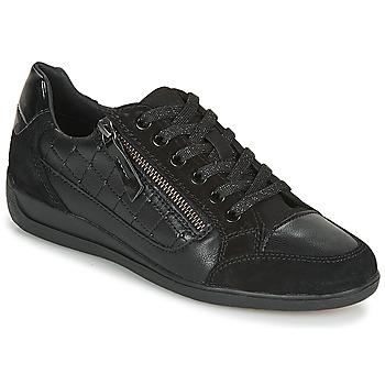 Παπούτσια Γυναίκα Χαμηλά Sneakers Geox D MYRIA A Black